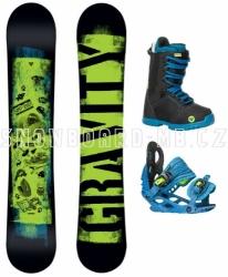 Dětský snowboard set Gravity Flash 2018