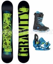Dětský snowboardový set Gravity Flash 17/18