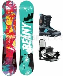 Dětský snowboardový komplet Beany Action