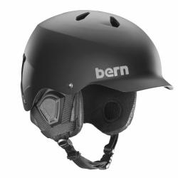 Helma Bern Watts Crank Fit matte black/čern matná