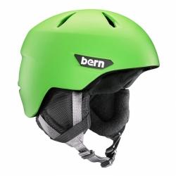 Chlapecká helma Bern Weston JR matte neon green