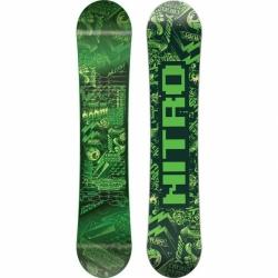 Dětský snowboard Nitro Ripper kids green