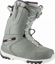 Kvalitní dámské snowboardové boty Nitro Cuda TLS grey