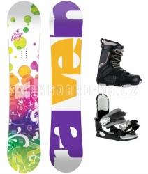 Dívčí a dámský snowboard komplet Raven Lucy
