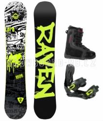 Chlapecký snowboardový komplet Raven Core junior