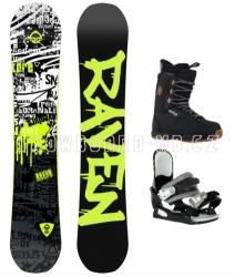 Chlapecký snowboardový set Raven Core junior