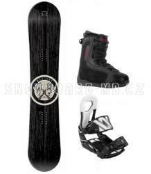 Snowboard komplety Westige Apache s vázáním Volkl