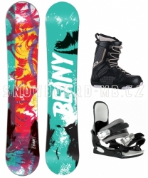 Snowboardový set Beany Action