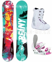 Snowboard komplet Beany Action