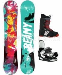 Snowboardový komplet Beany Action pro větší děti a juniory