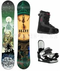 Snowboardový komplet Beany Demon pro větší děti i lehčí dospělé