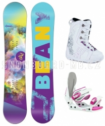 Dívčí snowboardový set Beany Meadow