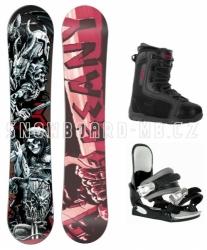 Snowboard komplet Beany Hell pro juniory i dospělé