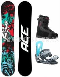 Snowboardový komplet Ace Villain pro začátečníky a mírně pokročilé