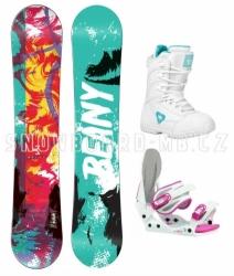 Dívčí snowboard komplet Beany Action, snb sety pro děti