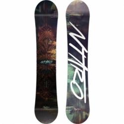Dámský snowboard Nitro Mystique allmountain gullwing