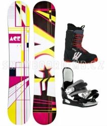 Levný dámský snowboardový komplet Ace Oddity S3
