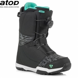 Dámské snowboardové boty Gravity Aura Atop black/mint 2018/2019