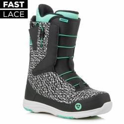 Dámské snowboard boty Gravity Sage Fast Lace black/mint
