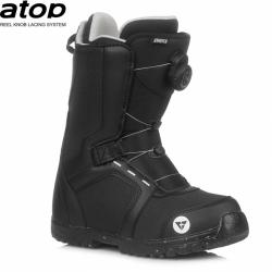 Dětské snowboardové boty Gravity Micro Atop black utahovací kolečko