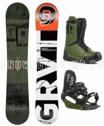 Snowboardový komplet Gravity Bandit s vázáním G3 a botami Manual Fast Lace