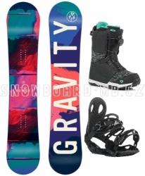 Dámský snowboardový komplet Gravity Thunder 2018/19