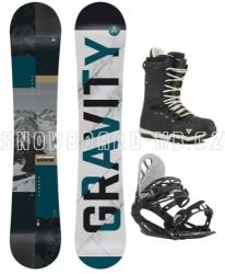 Snowboardový komplet Gravity Adventure s botami