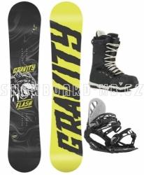 Juniorský snowboardový komplet Gravity Flash pro chlapce od 10 let