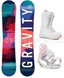 Dívčí snowboardový komplet Gravity Fairy pro holky a slečny