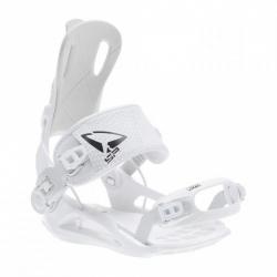 Snowboardové vázání s výklopnou patkou a rychlým zapnutím SP Fastec FT270 white