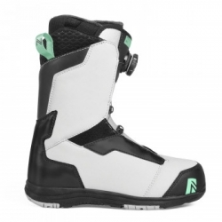 Dámské snowboardové boty Nidecker Onyx Coiler grey/aqua 2019