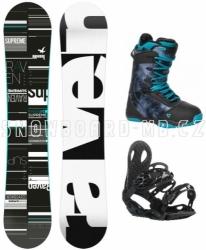 Dámský snowboardový komplet Raven Supreme black/blue
