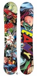 Dětský a juniorský snowboard Beany Heropunch s komiksem