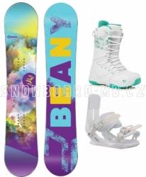 Dámský a dívčí snowboard komplet Beany Meadow