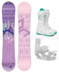 Dívčí snowboard komplet Beany Spirit