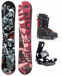 Snowboardový komplet Beany Hell