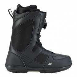 Snowboardové boty K2 Market black/černé s utahováním BOA kolečkem