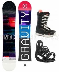 Dámský snowboard komplet Gravity Electra 2019/20