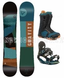 Freestyle snowboard komplet Gravity Empatic 2019/2020