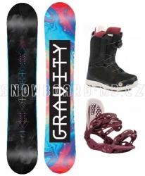 Dámský snowboardový komplet Gravity Sublime 2019/20 s rychlozapínacími botami