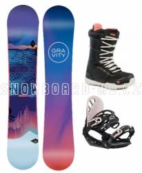 Dámský snowboard komplet Gravity Voayer 2019/20