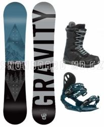 Dětský juniorský snowboard komplet Gravity Flash s většími botami 2019/20