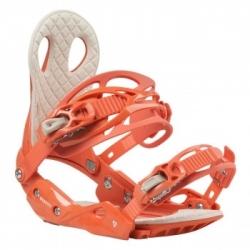 Dámské vázání na snowboard Gravity G2 Lady coral oranžové