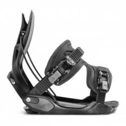 Snowboardové vázání s otevírací patkou Flow Alpha black