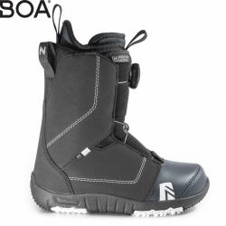 Dětské snwoboardové boty Nidecker Micron Boa black s kolečkem