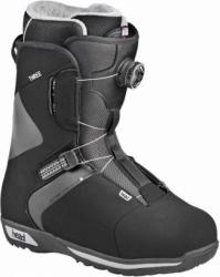 Boty na snowboard se systémem utahování kolečkem Head Three Boa black