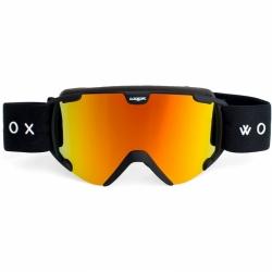 Snowboardové a lyžařské brýle Woox Opticus Pusilli s oranžovým zrcadlovým sklem