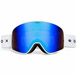 Brýle na lyže a snowboard Woox Opticus Temporarius White/Blu
