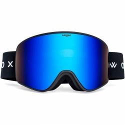 Lyžařské a snowboardové brýle s modrým sklem Woox Opticus Temporarius White/Re