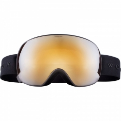 Snow brýle Woox Opticus Opulentus Dark/Gld zlaté sklo a černý pásek